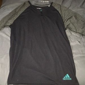 Adidas Climate long sleeve tee shirt